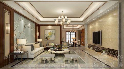 佛山香格里拉 四居室中式风格装修效果图
