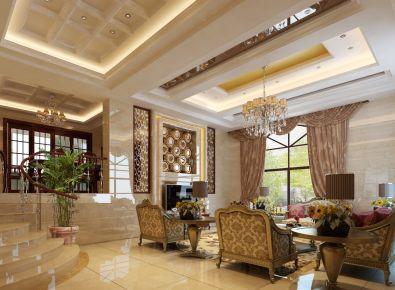 设计师案例丨冠城国际欧式风格别墅装修设计