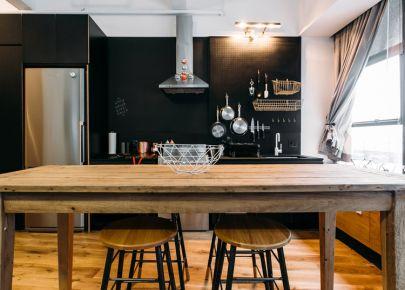 无锡三居室北欧风装修设计效果图-叙丰里