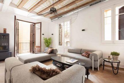 无锡北欧风家庭装修设计效果图-中海英伦官邸
