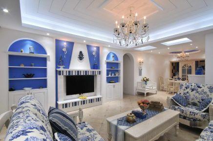 无锡地中海风格家装设计效果图-绿地璀璨天城