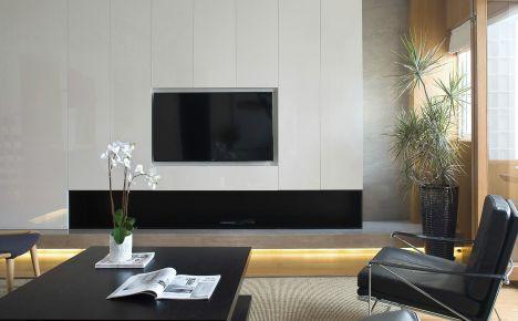 无锡北欧风家庭装修设计效果图-华仁凤凰城