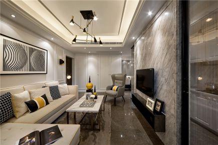 贵阳153平米现代风格摩登豪宅装修