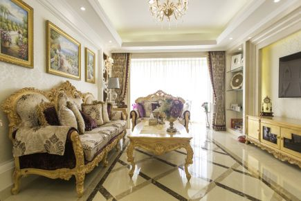欧式风格豪华装修美公寓欣赏