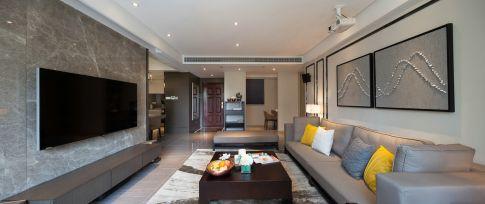 无锡三居室地中海风格装修效果图-海尚映象