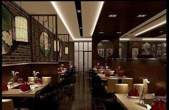 深圳欧式风格酒店餐厅装修设计案例