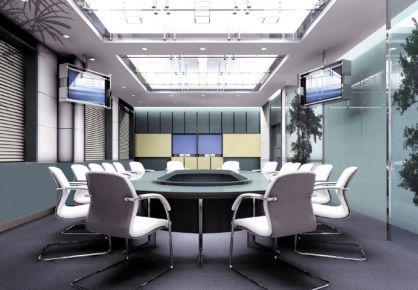 深圳龙光世纪大厦现代办公楼装修案例