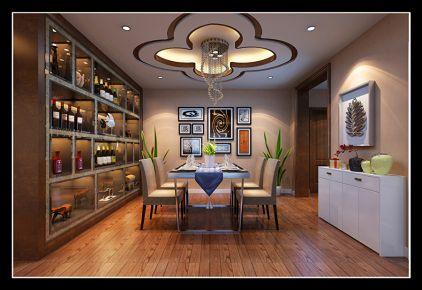 西安翰林新苑新房装修  二居室简约风格装修效果图