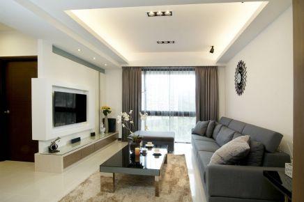 贵阳3室2厅126平米现代风格装修案例