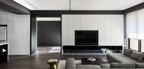 现代光和影 四居室现代风格装修