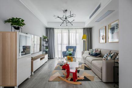 理想中的家 三居室现代风格装修效果图