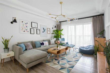 《爱的时光机》泉州三居室简约风格装修