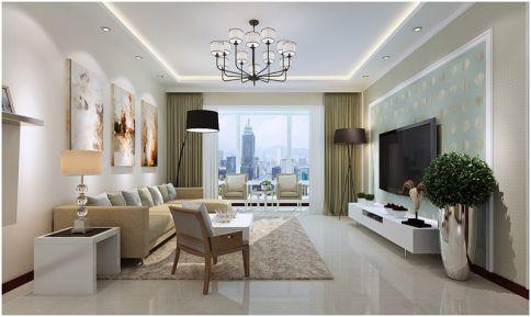 重庆生活家装饰 128平现代风格家庭装修效果图