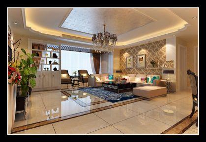 西安长泰金帝 二居室美式风格装修设计