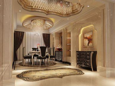 西安赛高国际 二居室现代风格装修效果图