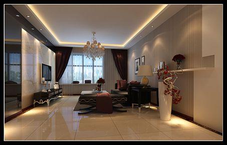 西安融尚第10区 三居室简约风格装修效果图