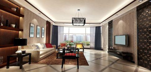 徐州泰山小区3+2 三居室欧式风格装修效果图