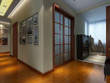 西安宏信国际 四居室中式风格装修设计