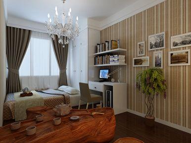 西安保利拉菲公馆 四居室现代风格装修效果图