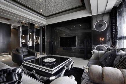 武汉名流公馆 新古典风格家庭装修设计