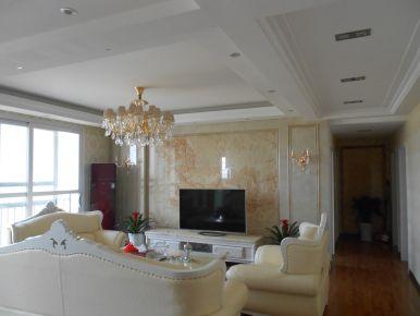 武汉齐星花园  三室欧式风格装修效果图