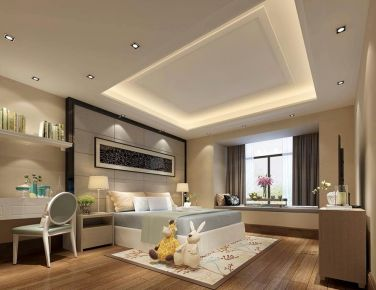 东莞城南意境现代风格别墅装修设计效果图