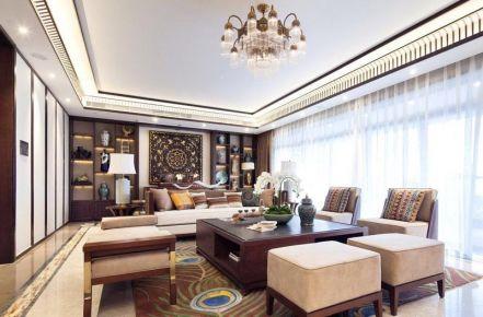 贵阳花果园F20 新中式风格三居室装修效果图