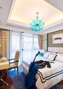 武汉现代简约风格二居室装修效果图