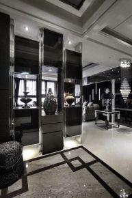 武汉名流公馆新古典风格家装效果图欣赏