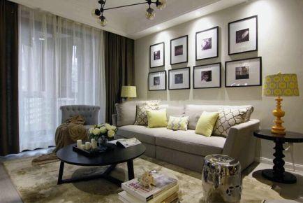 简洁温馨 烟台三居室简约装修效果图欣赏