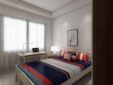 石家庄二居室现代简约风格装修效果图