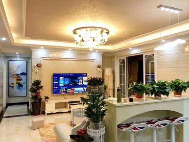暖系简欧家居设计(现场拍摄)长沙紫湖香醍小区
