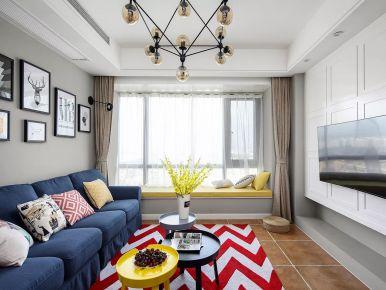 年轻的激情 三居室美式风格装修