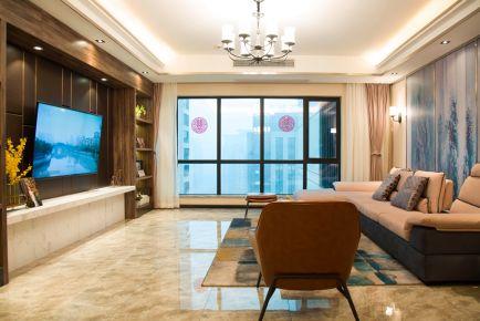 俏业家装饰|重庆香奈公馆|97平三居室|港式风格实景图