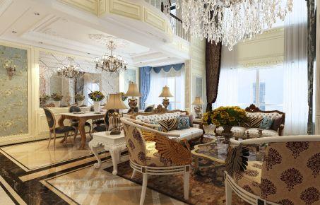 银川轻奢新古典欧式风格别墅装修效果欣赏