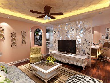 哈尔滨 半包 地中海风格家庭装修效果图