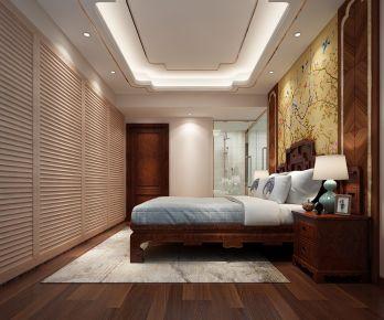 锦绣誉峰陈先生雅居 二居室中式风格装修