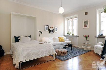 呼和浩特47平北欧风格小公寓装修