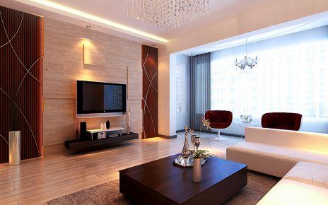 哈尔滨阳光绿景 半包简约三居室装修案例