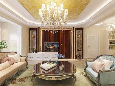 鸿熙阅海湾刘先生 四居室创意混搭风格装修