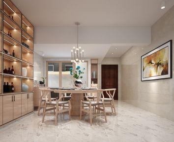佛山中式风格二居室装修设计