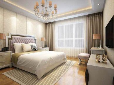 宁波锦悦湾花苑 118平米三室二厅简欧风格装修案例