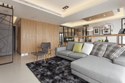 中国风三居室现代风格之美