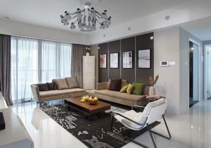 时尚感简约风格二居室装修案例