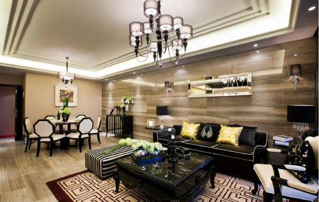 石家庄现代简约风格二居室装修效果图
