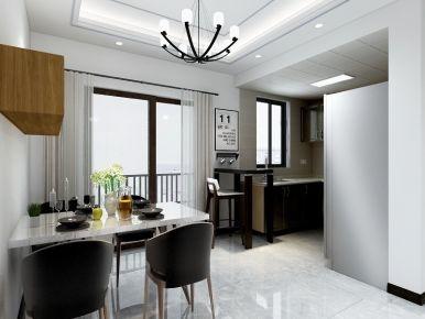 中山剑桥郡 三居室现代风格装修设计
