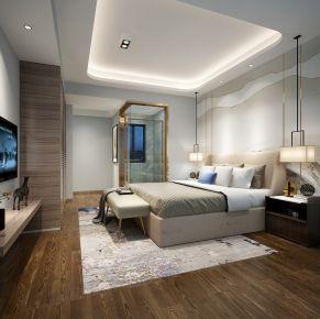 佛山珑耀华府邵先生雅居 二居室中式风格装修
