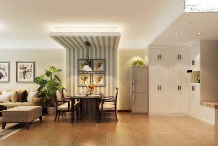 二居室简欧风格效果图欣赏