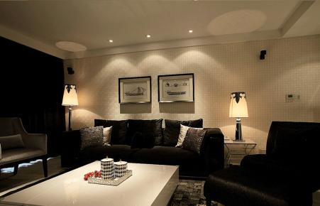 成都五彩城 106平米现代风格三居室装修
