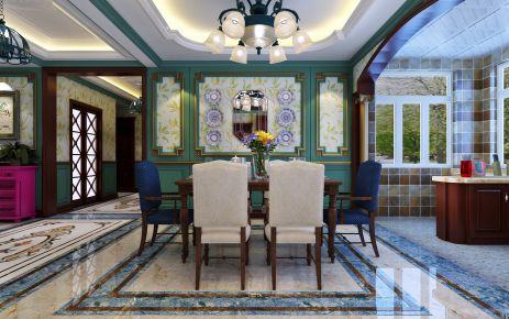 石家庄东南亚风格二居室装修效果图